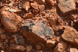 Le rocce minerali di Montepeloso