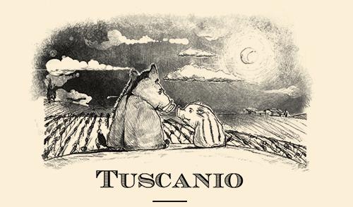 Tuscanio Etichetta